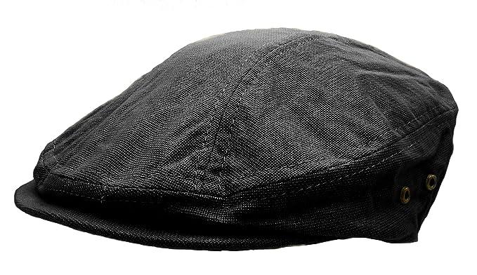 Ivy Modern Driving Newsboy Golf Mens Hat Cap (Black) at Amazon Men s ... 7b66aee216a
