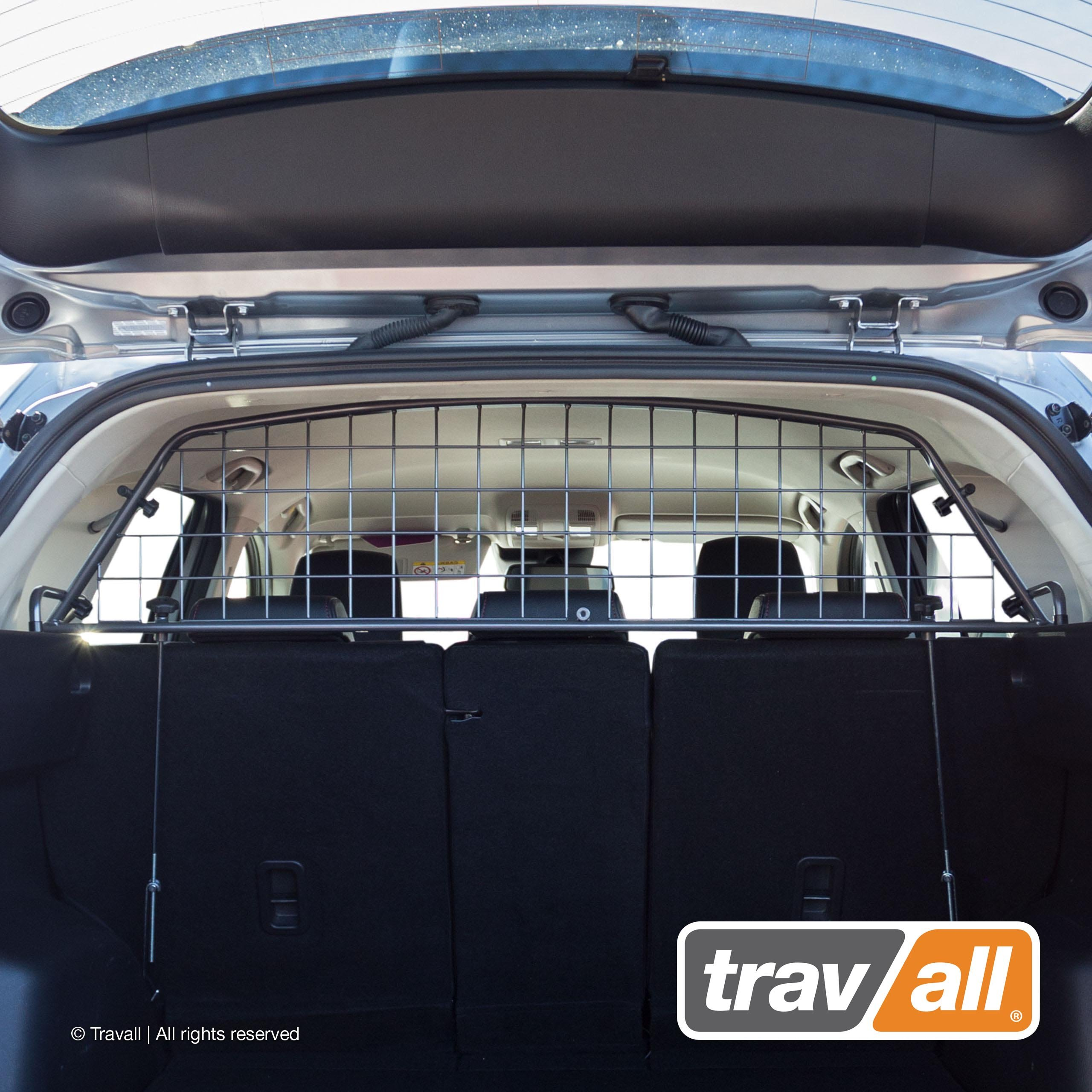 Travall Guard Compatible with Mazda CX-5 (2012-2017) TDG1343 - Rattle-Free Luggage and Pet Barrier by Travall