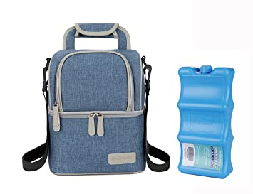 Amazoncom V Coool Premium Breastmilk Cooler Bag With Ice Pack Set
