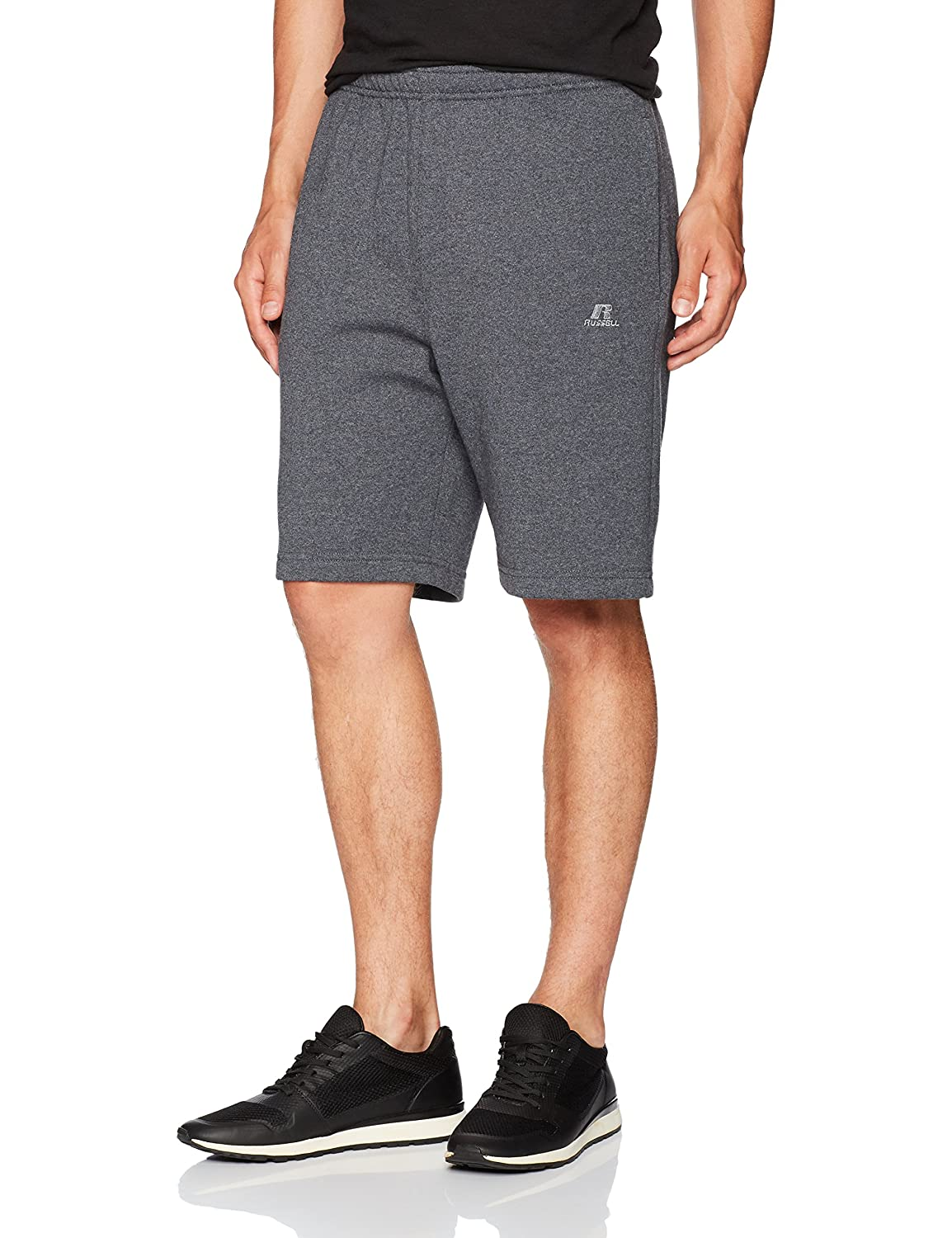 Russell Athletic Mens Standard Dri-Power Fleece Short Pockets 7FSHBM0