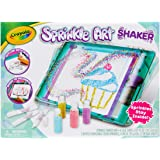 Crayola Sprinkle Art Shaker Set, Shake to Decorate with Colourful Sprinkles, Less Mess Activity, Great Creative Gift!
