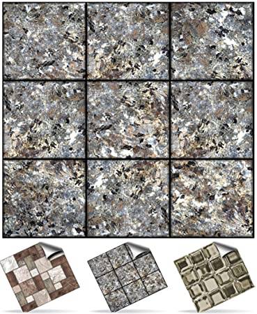 Tile Style Decals   Modell (30xNTP 0  4u0026quot; Flaked Marble)  