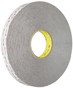 "3M VHB Tape RP45 Gray, 1""x 36 yd"