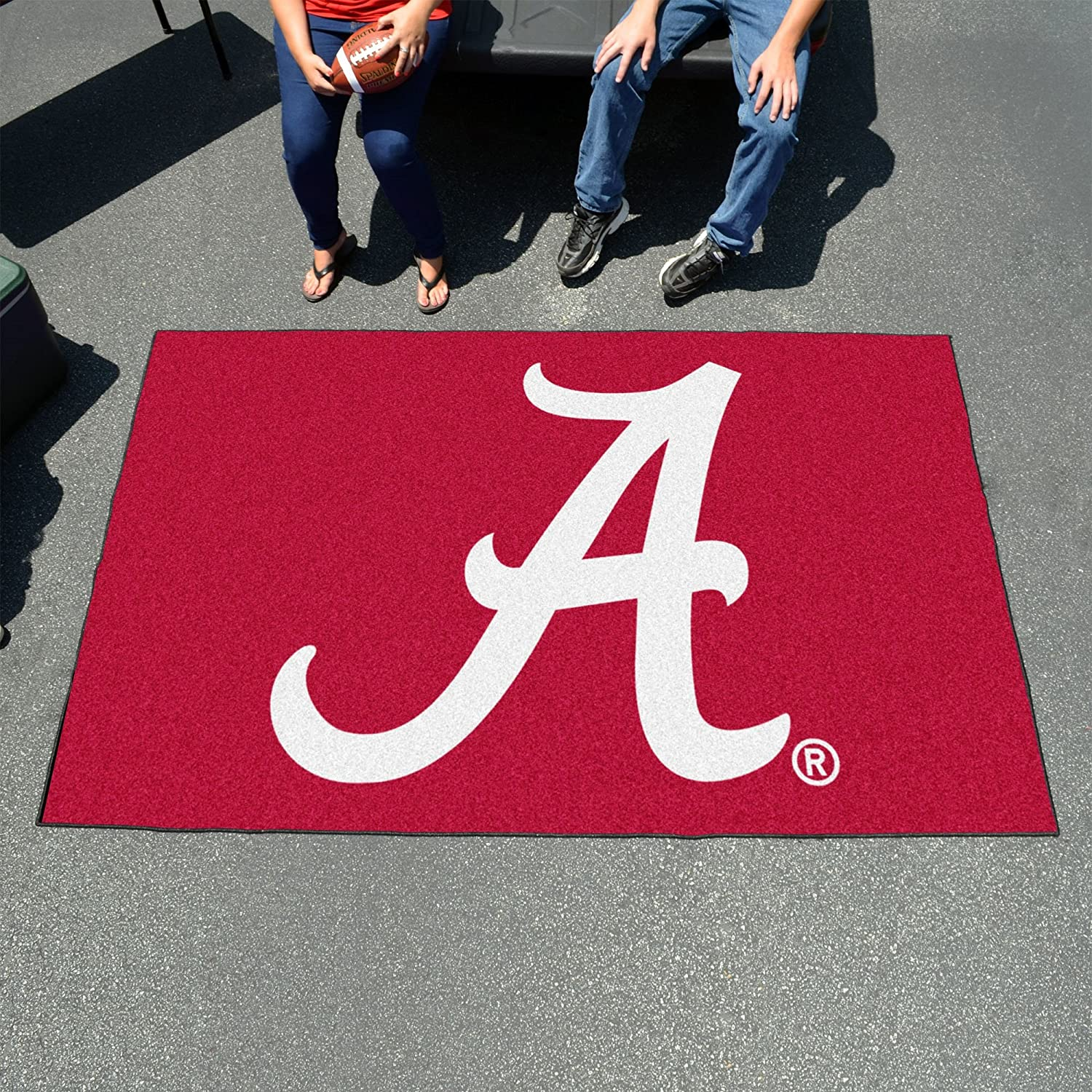 University of Alabama Logo Area Rug
