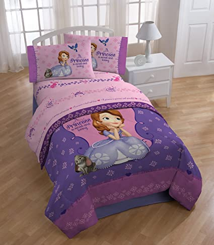 9b057b84df28 Disney Junior Sofia The First Graceful Full Sheet Set Jay Franco and Sons  Inc JF26672WCD