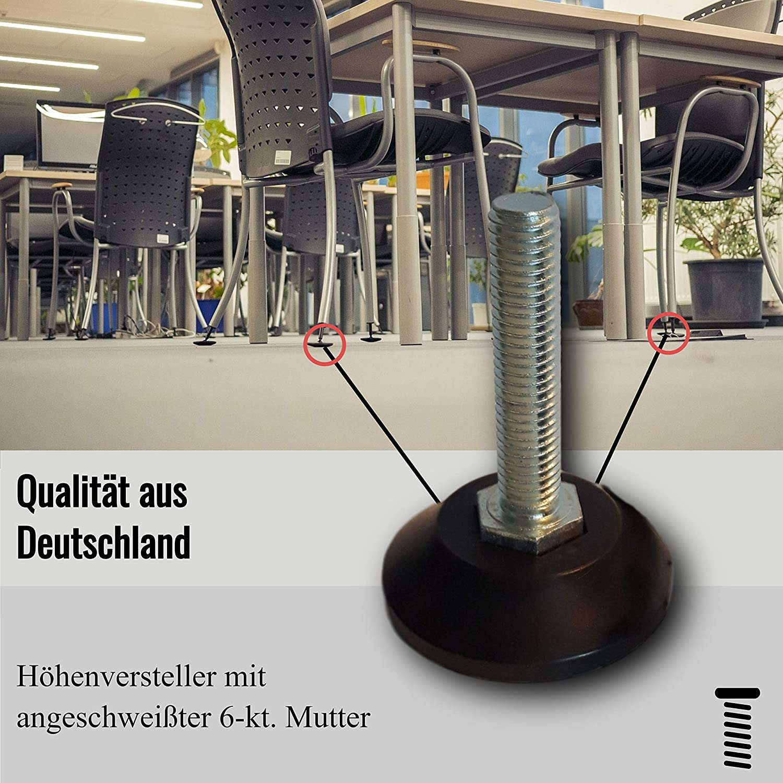 Kora Stellfuss M8x50 bis 100kg 1