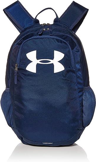 Paternal obesidad capítulo  Under Armour UA Scrimmage 2.0 Backpack, mochila unisex, mochila resistente  al agua unisex, azul (Academy/Academy/White(408)), Taglia unica: Amazon.es:  Ropa y accesorios
