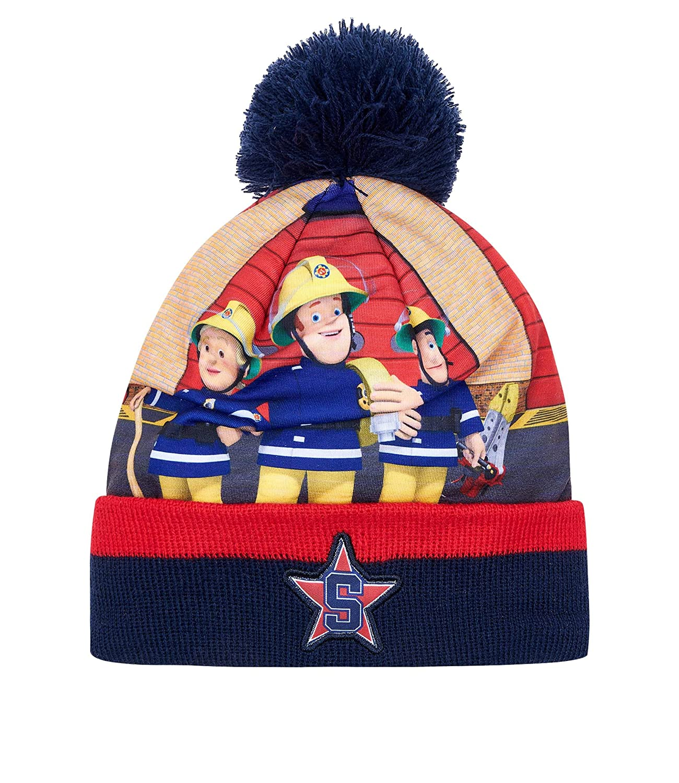 Fireman Sam Knit hat navy blue LamaLoLi