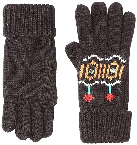 Desigual Gloves_Eternal, Guanti Donna, Nero (Negro 2000), Unica (Taglia Produttore: One Size)