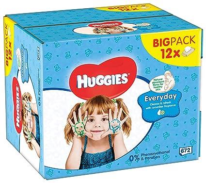 Huggies Toallitas para Bebé, Multiusos - 672 Unidades