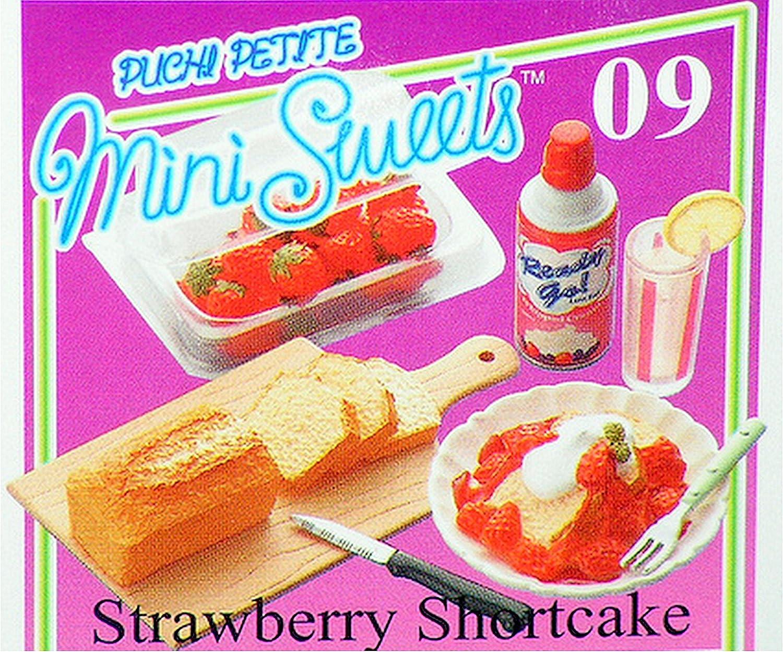 Re-Ment Strawberry Shortcake Dessert Mini Miniature Food 2006 Collectible Set