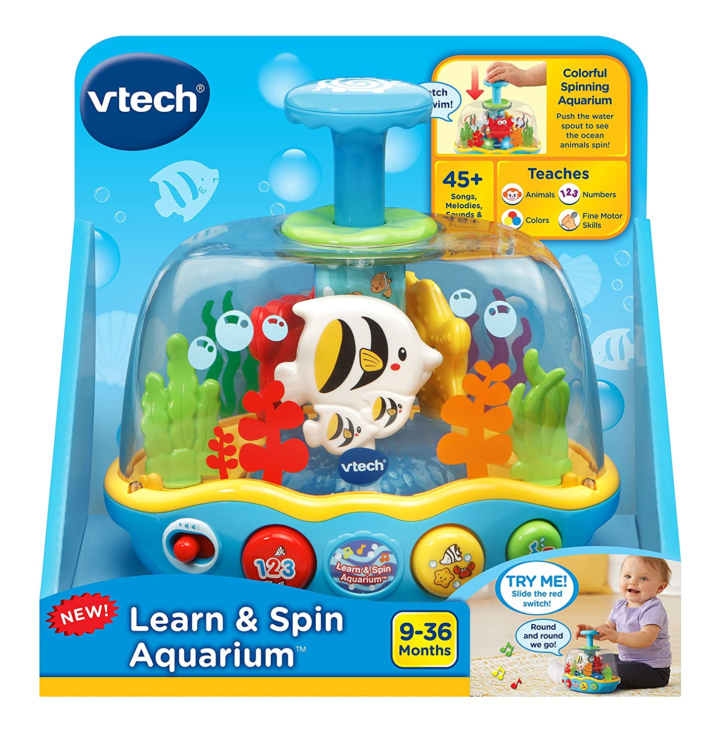 VTech Learn and Spin Aquarium 80-508961