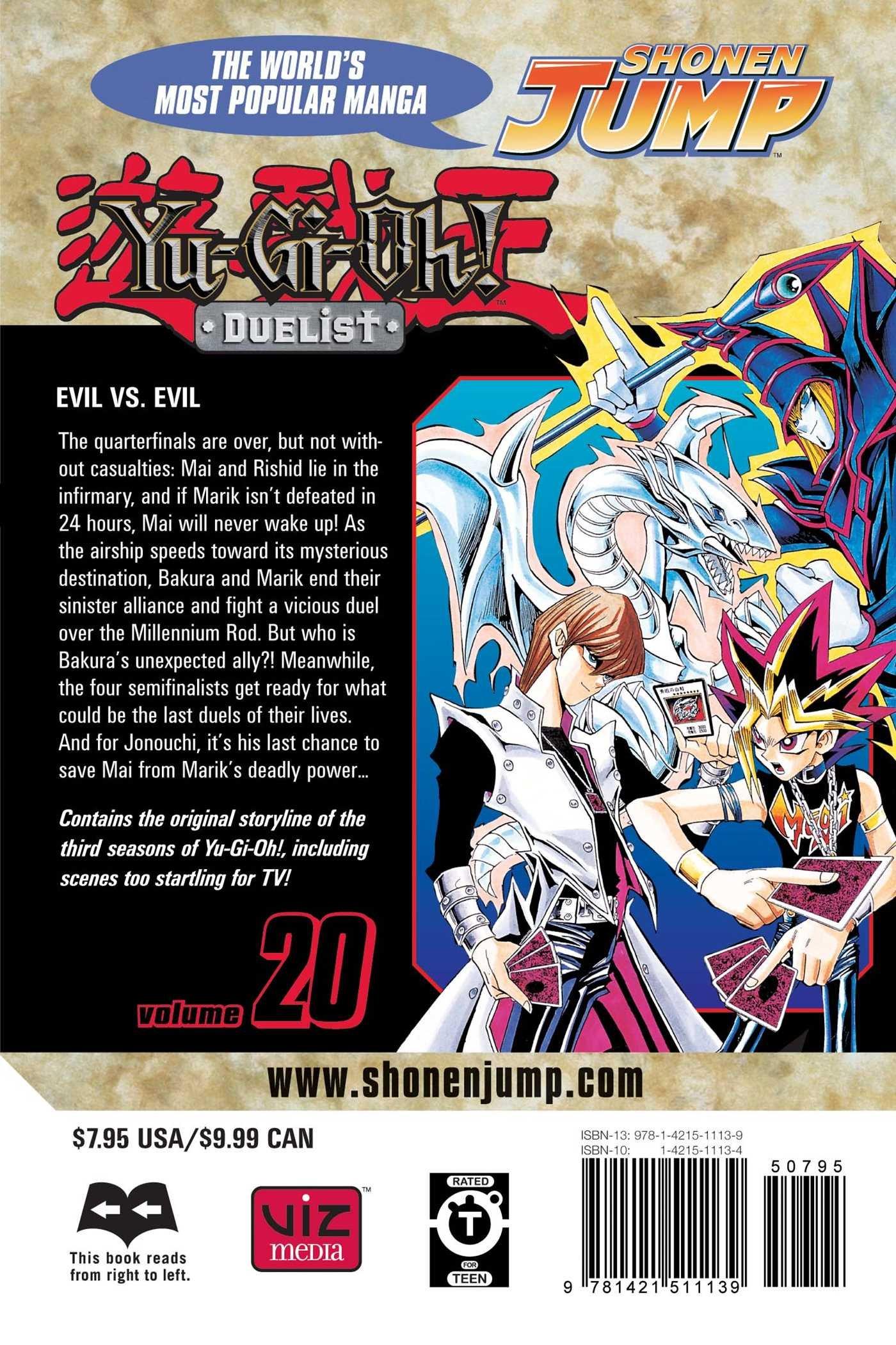 Yu-Gi-Oh!: Duelist, Vol. 20: Evil Vs. Evil