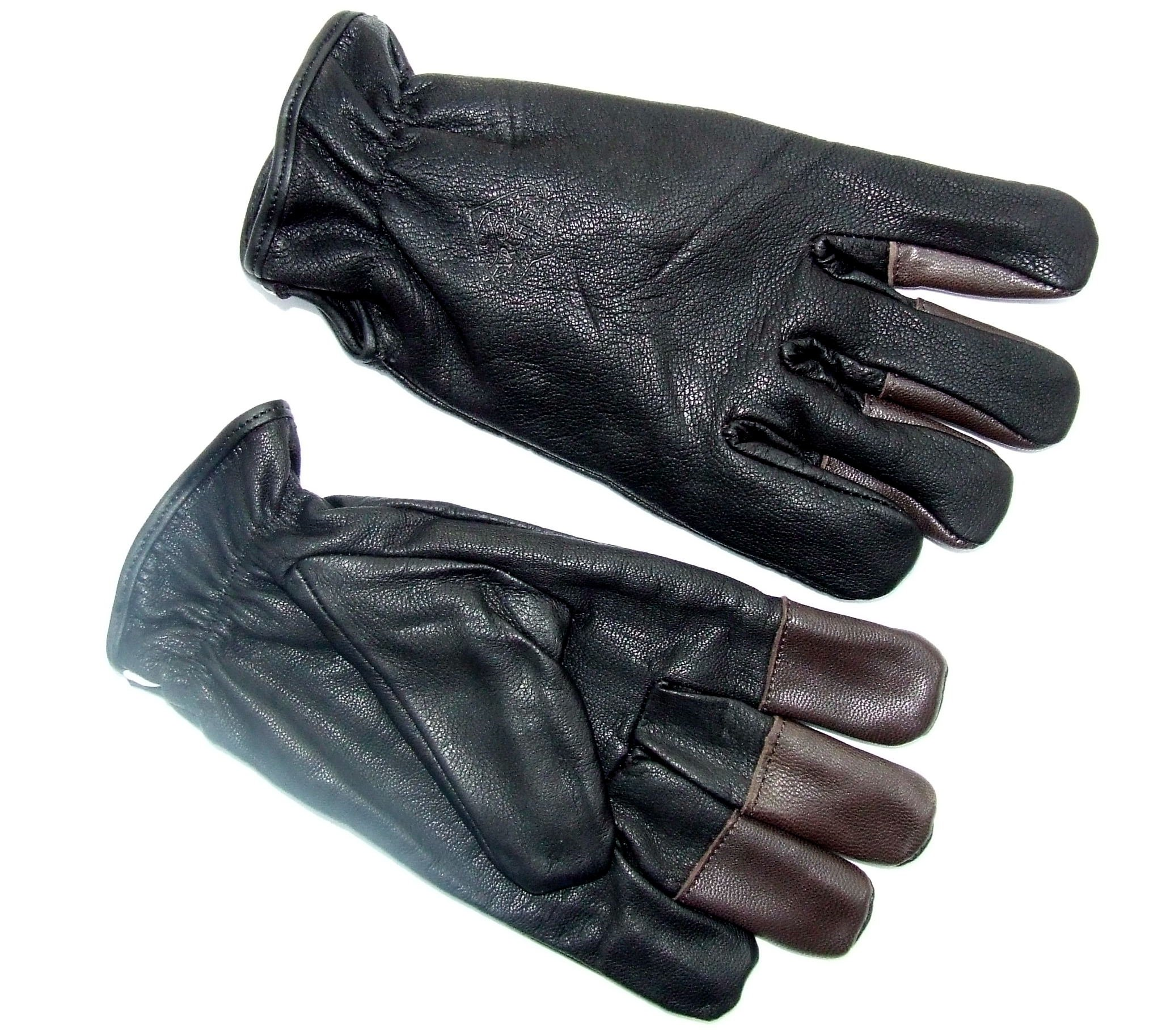 Big Tradition New Archery Leather Winter Shooting Gloves (Pair) (X-Large) by Big Tradition