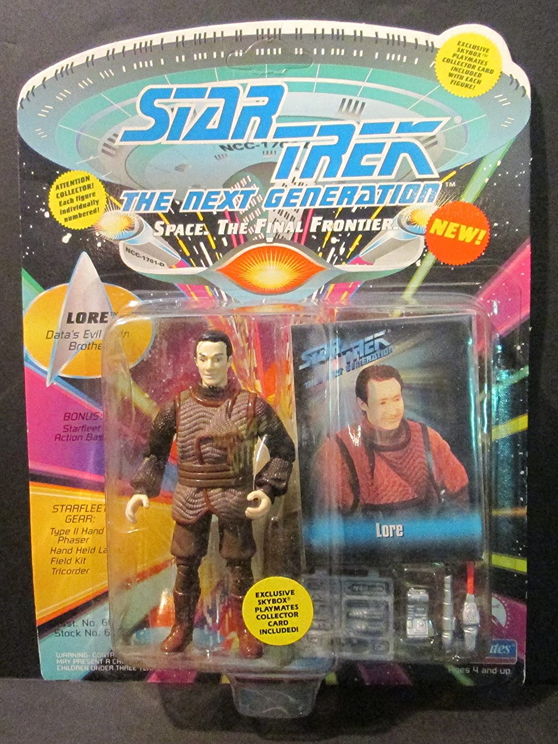 Star Trek The Next Generation Playmates Toys Action Figures choice /& Voyager