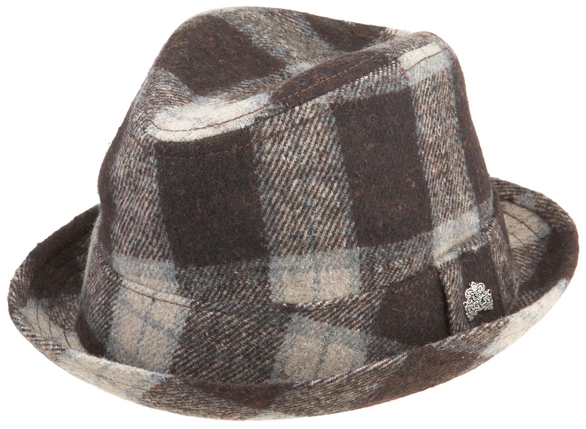 Lost Men's Mosh Fedora,Brown,Small/Medium