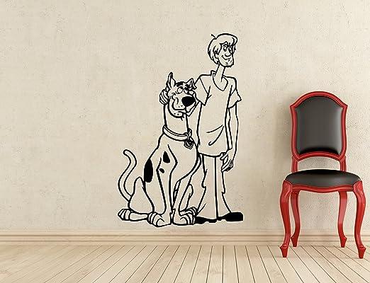 Scooby Doo Kids Boy Girls Bedroom Vinyl Color Wall Decal Art Sticker Gift New