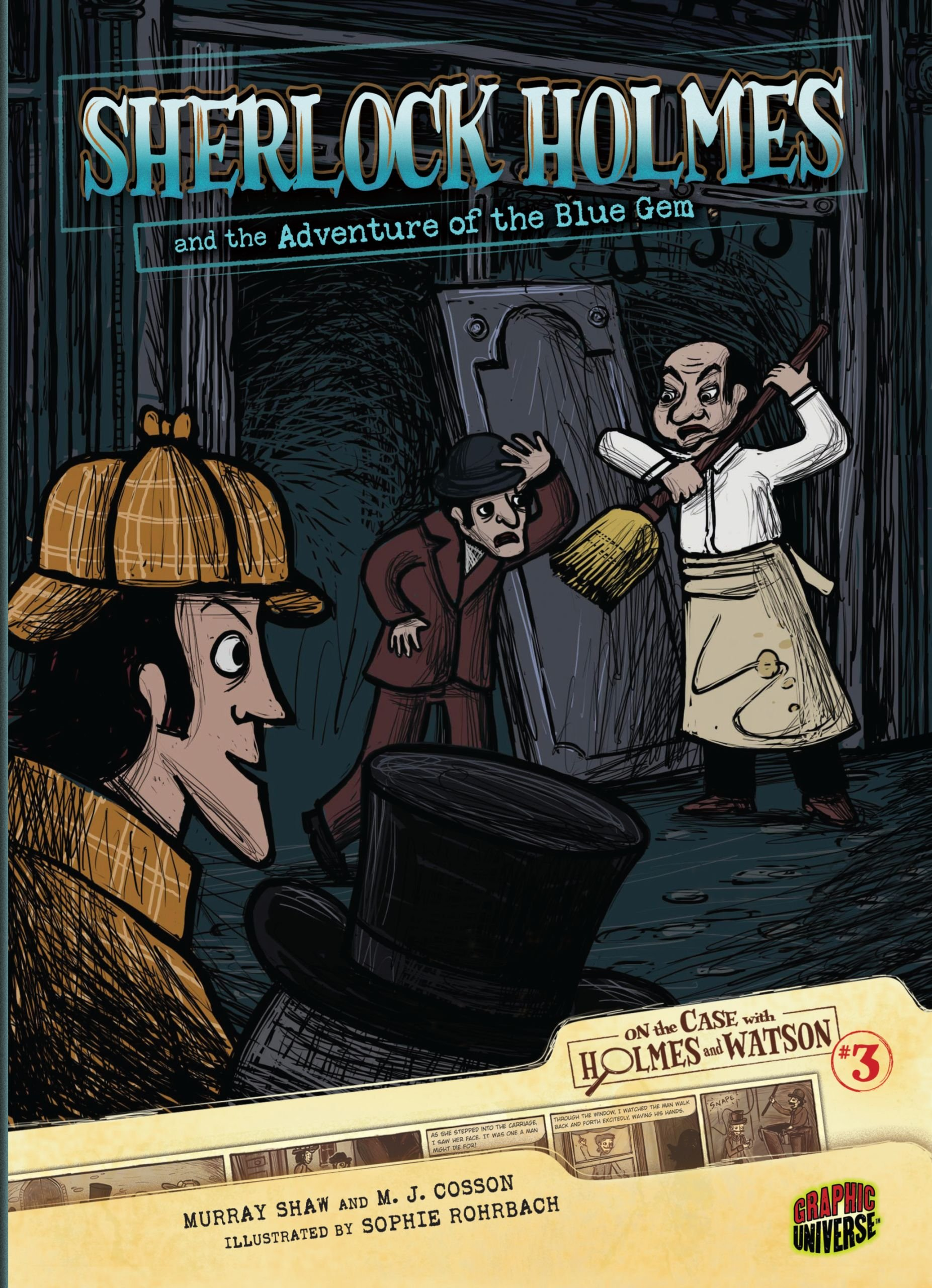 Sherlock Holmes and the Adventure of the Blue Gem: Case 3 (On the Case with Holmes & Watson (Library)) pdf