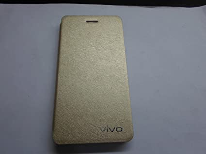 new style d2d20 69396 VIVO V1 FLIP COVER GOLD: Amazon.in: Electronics