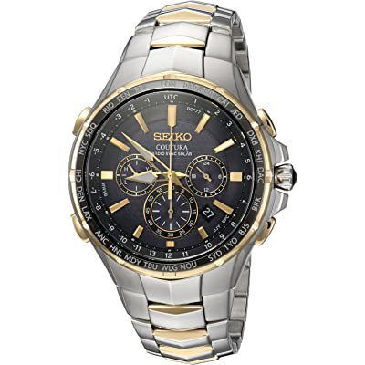 Seiko Coutura Radio Sync Solar Chonograph Watch SSG010