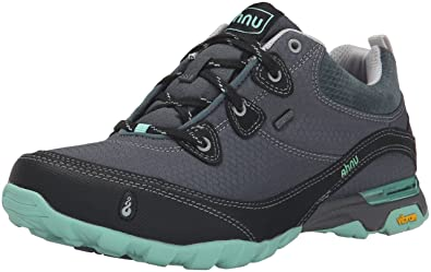 Ahnu Women's AF2421 Sugarpine Water Proof Hiking Boot, Dark Slate, 6 B(M