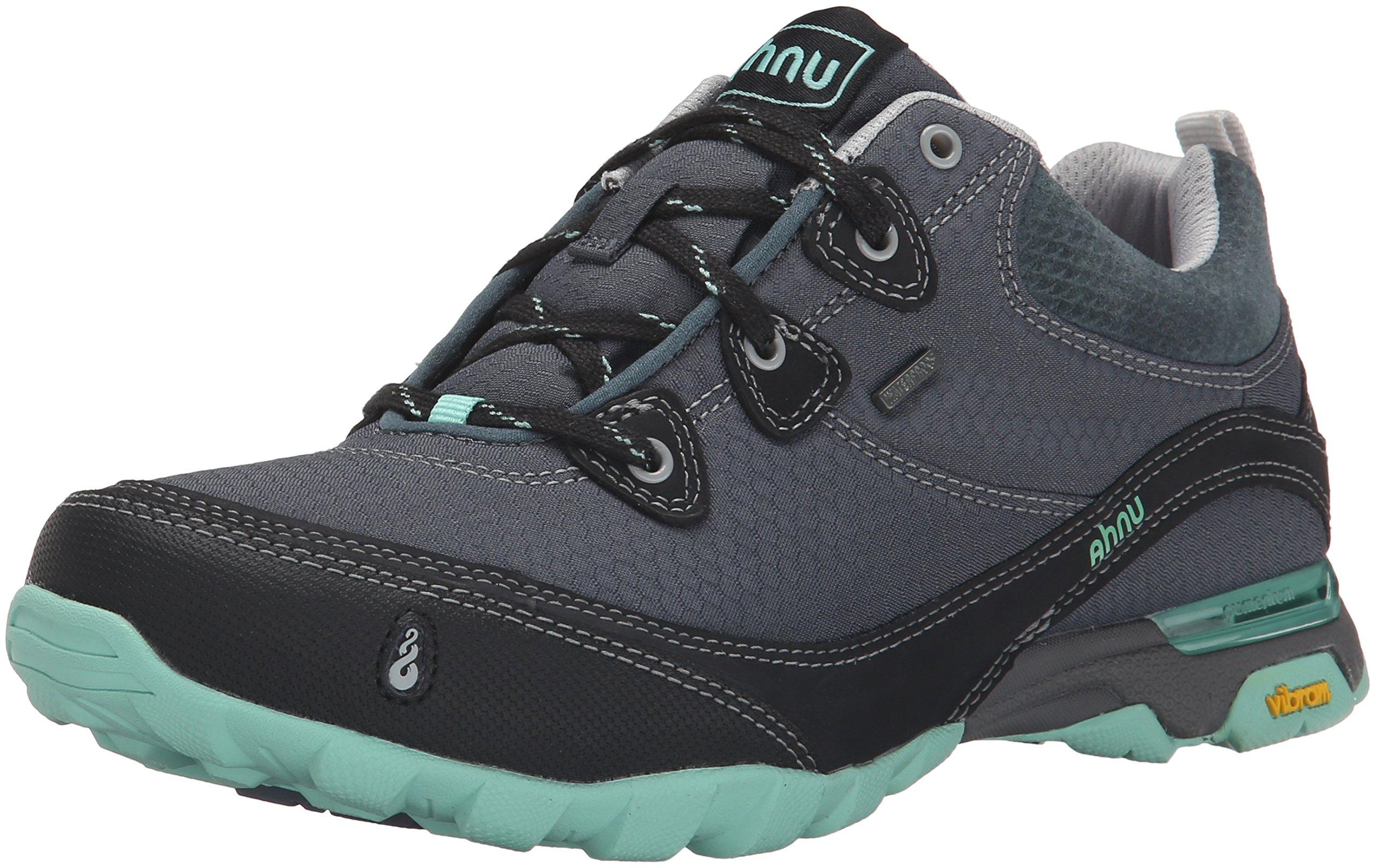 Ahnu Women's AF2421 Sugarpine Water Proof Hiking Boot, Dark Slate, 9.5 B(M) US