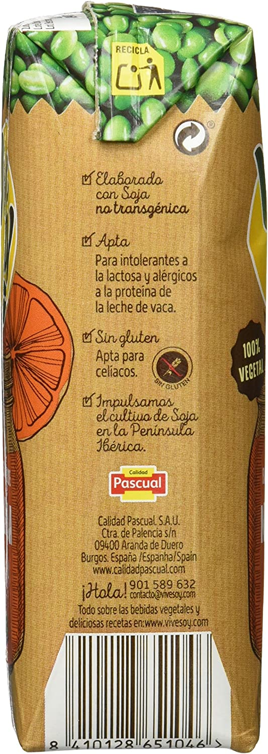 Vivesoy Naranja Y Soja Caja De 7 Packs 3X250 Ml: Amazon.es ...