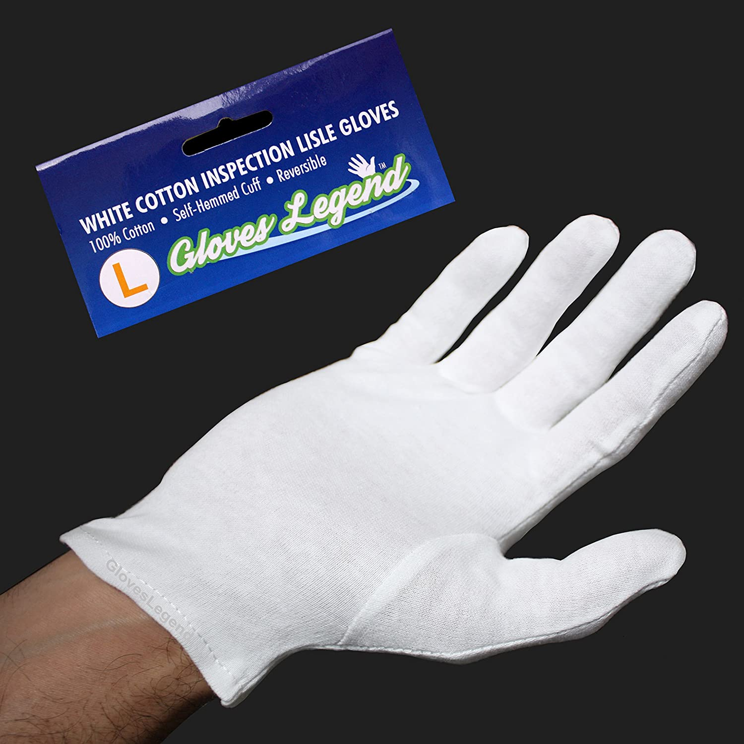 Mens leather gloves gq - Size Large 12 Pairs 24 Gloves Gloves Legend White Coin Jewelry Silver Inspection 100 Cotton Lisle Gloves Premium Weight Amazon Com Industrial