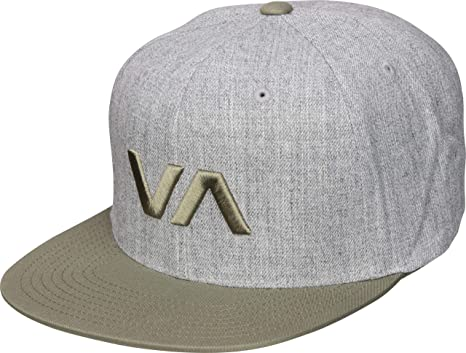 58a9a297a74ffd Amazon.com: RVCA Men's Va Snapback Ii Hat Athletic Heather One Size ...