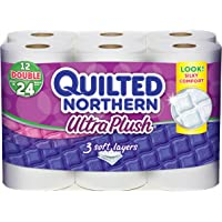 Quilted Northern Ultra Plush Double Roll Bath Tissue, 12 Count