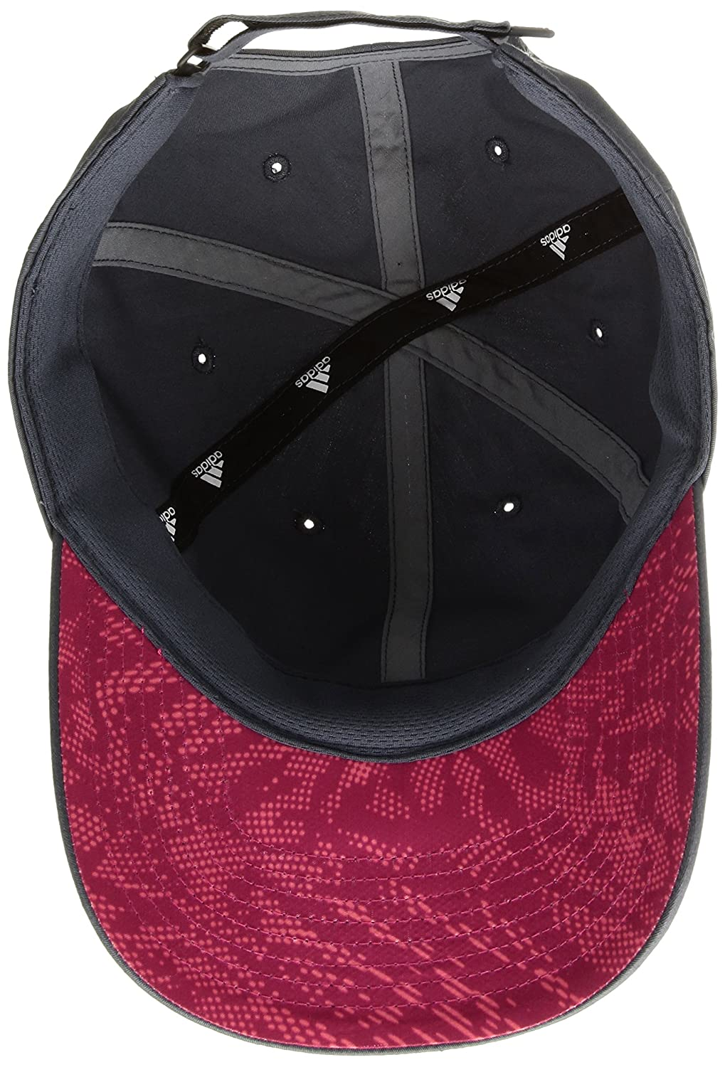 21dc334d53364 Amazon.com  adidas Women s Squad Cap Deepest Space Bold Pink Flash Red Poison  Ivy Print One Size  Sports   Outdoors