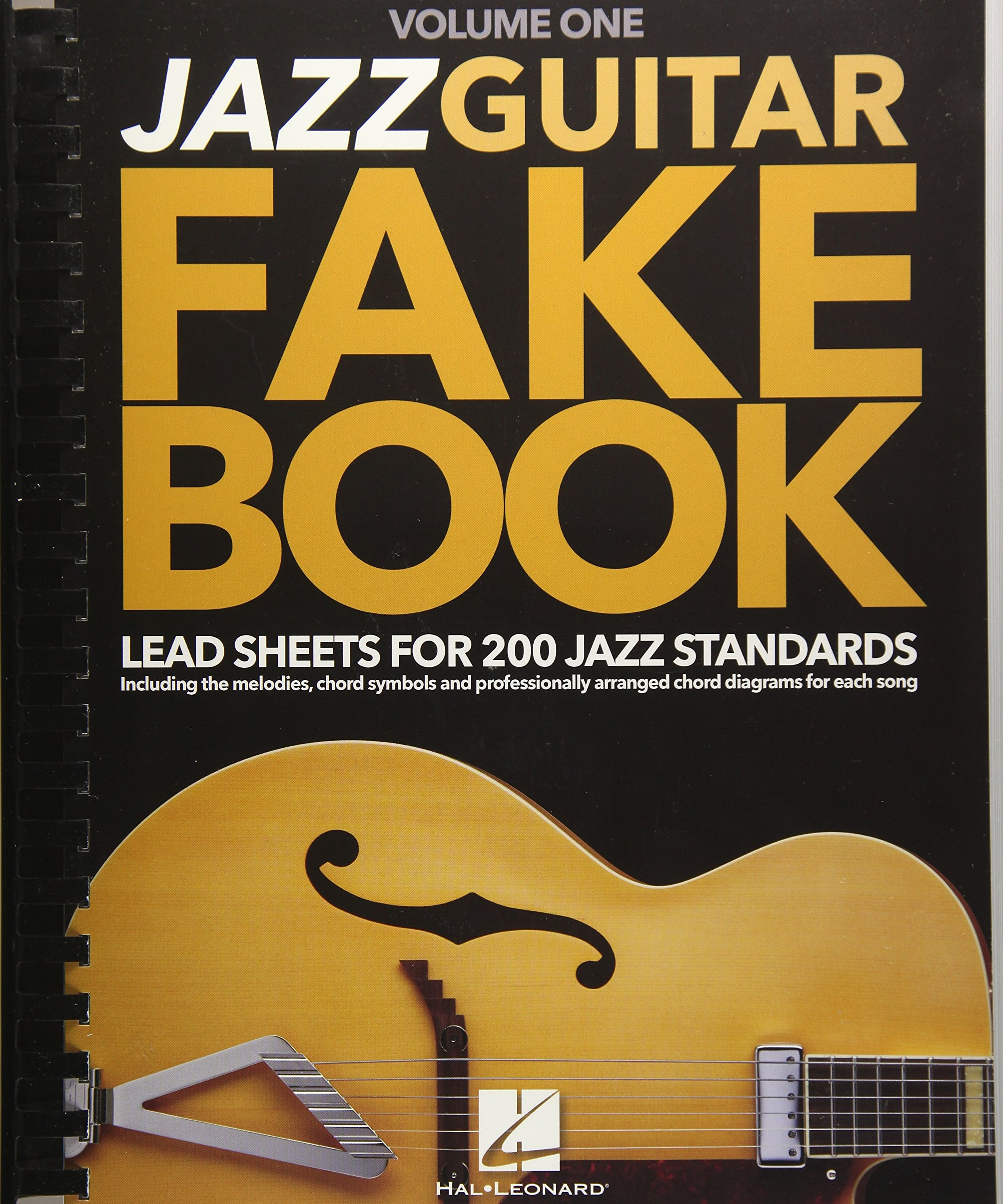 Amazon Jazz Guitar Fake Book Volume 1 Lead Sheets For 200