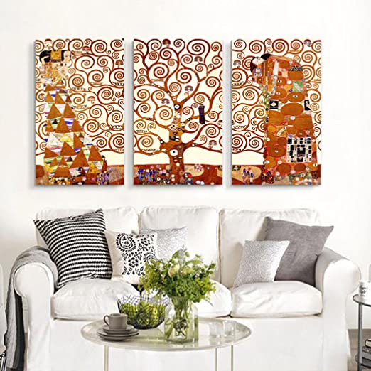 The Tree of Life, by Gustav Klimt, Oil painting Reproduction - Giclee Wall Art for Home Decor