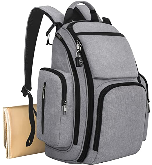 Mancro Diaper Bag Backpack - $...