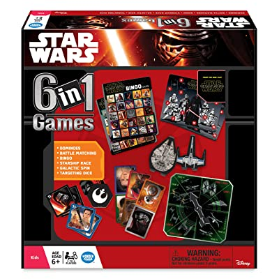 Star Wars The Force Awakens: 6-in-1 Game Collection: Toys & Games