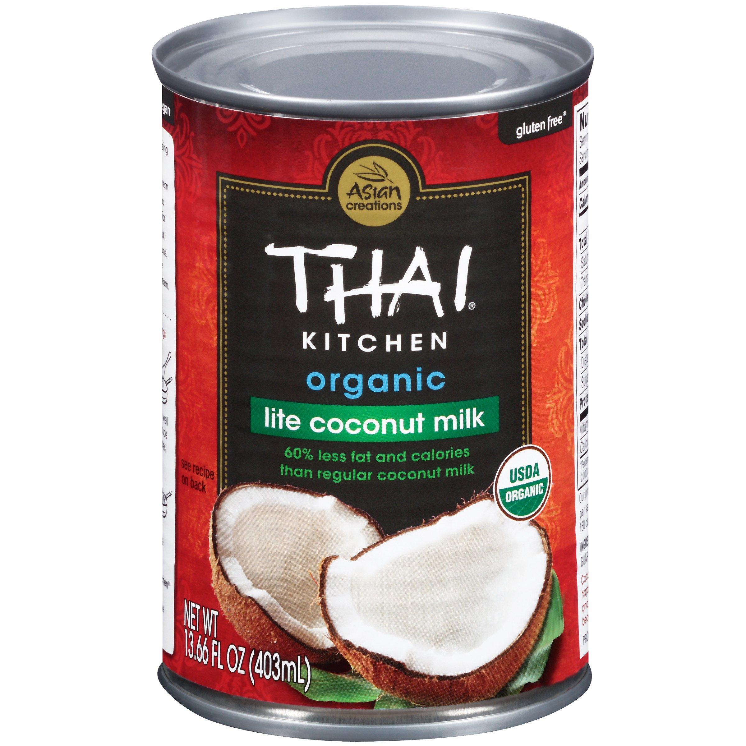 Thai Kitchen Organic Coconut Milk, 13.66 Fluid Ounce, (Pack of 12)