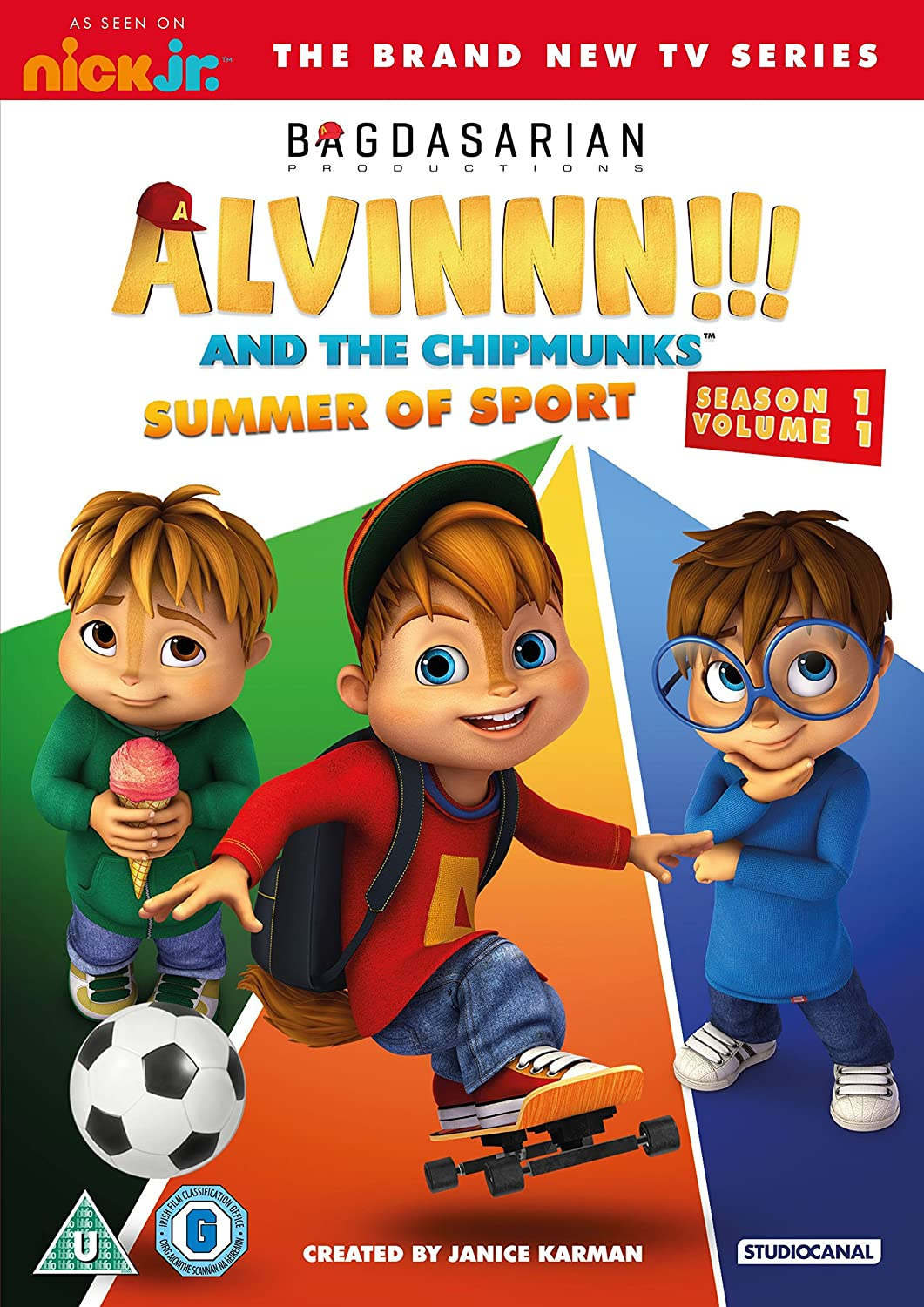 Alvinnn!!! And The Chipmunks: Summer Of Sport (Season One / Volume One)