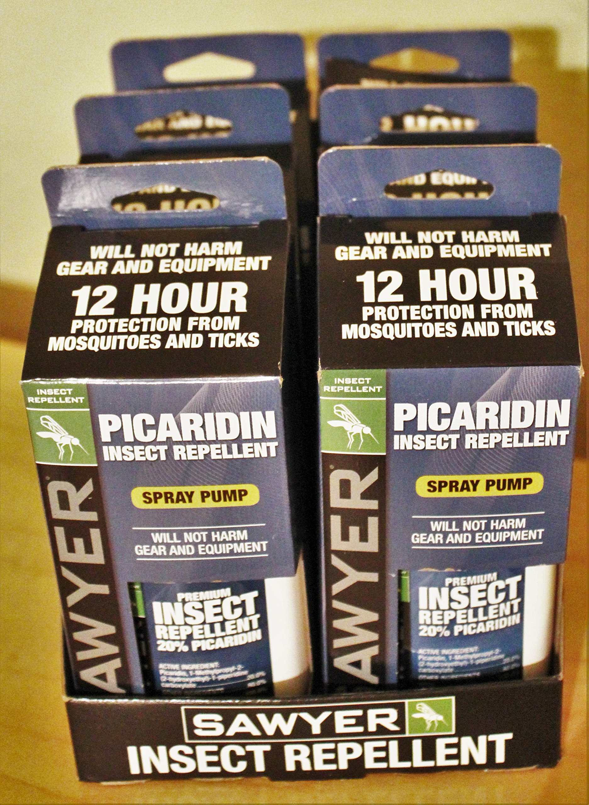 6 Pack of Sawyer Picaridin Insect Repellent Fisherman's Formula 4 oz spray SP544 by SAWYER