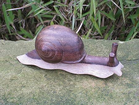 Escargot vers le bas animaux bois objets décoration