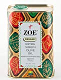 Zoe Organic Extra Virgin Olive Oil, 750 ML (25.5 Fl. Oz.)