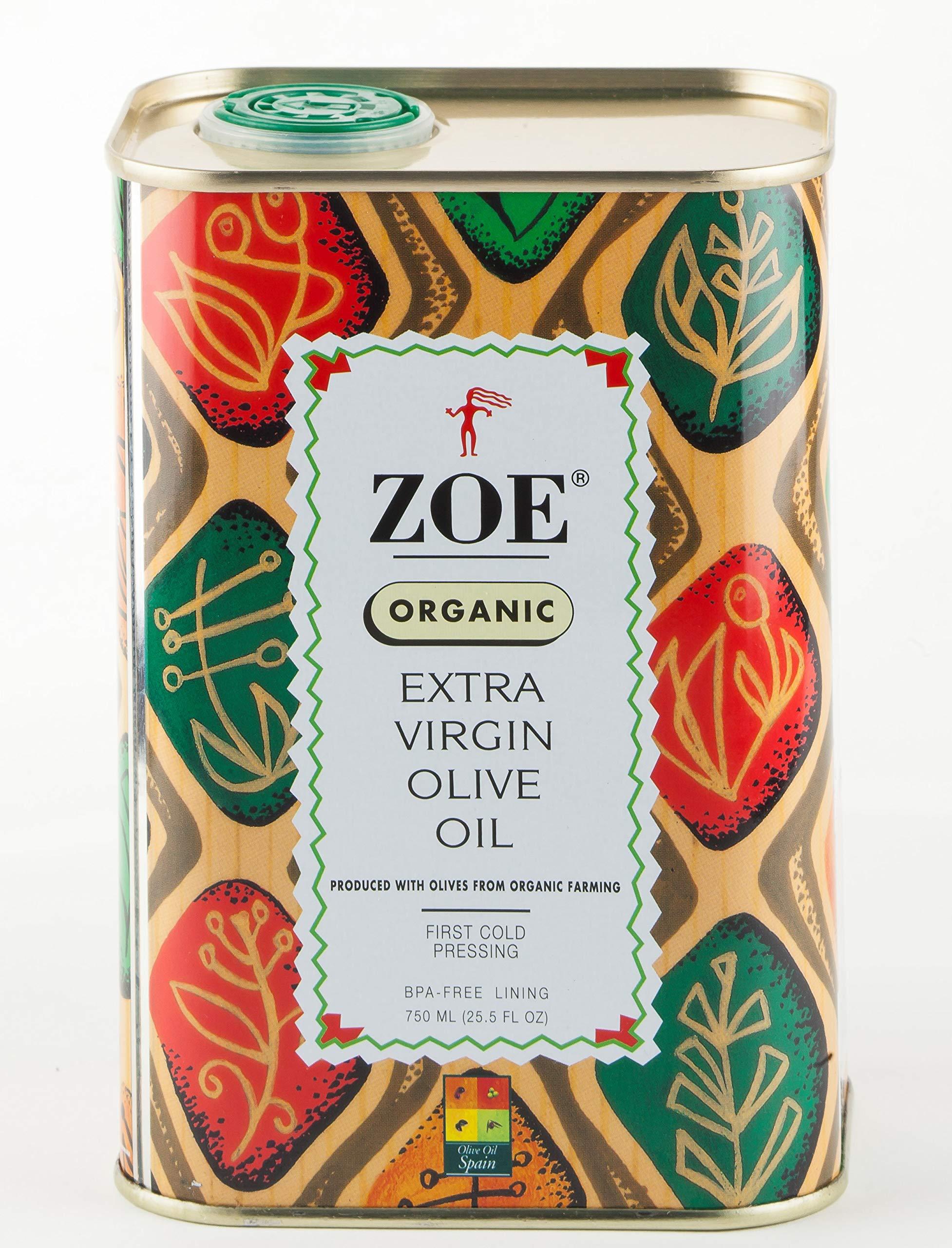 Zoe, Organic Extra Virgin Oil Olive, 25.5 Ounce by Zoe