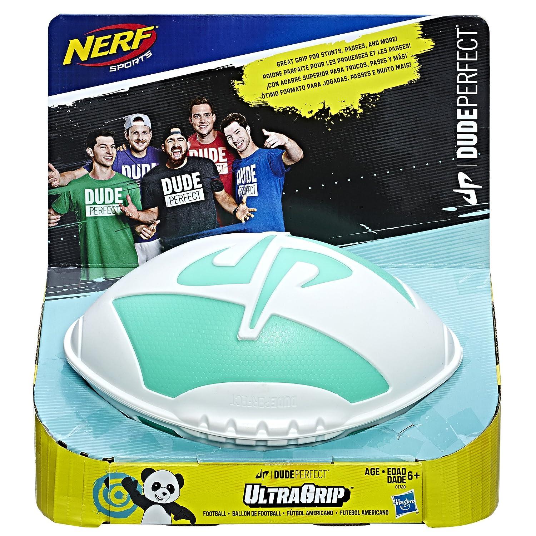 NERF Sports Dude Perfect UltraGrip Football