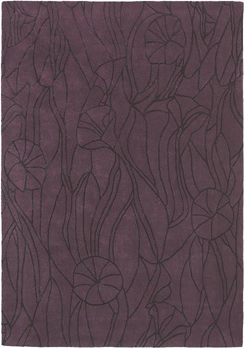 Mexx Tapis de salon moderne Ivy pas cher Mauve 170x230 cm ...