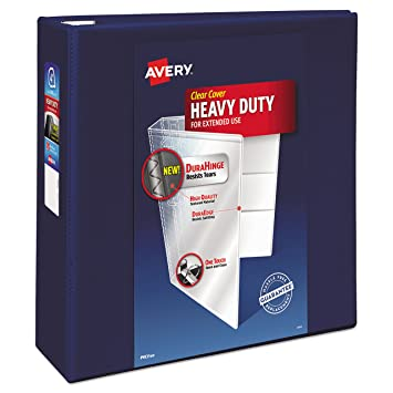amazon com avery heavy duty reference view binder with 4 inch one