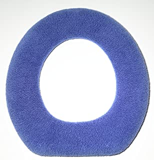 Warm And Fuzzy Toilet Seat Covers Blue
