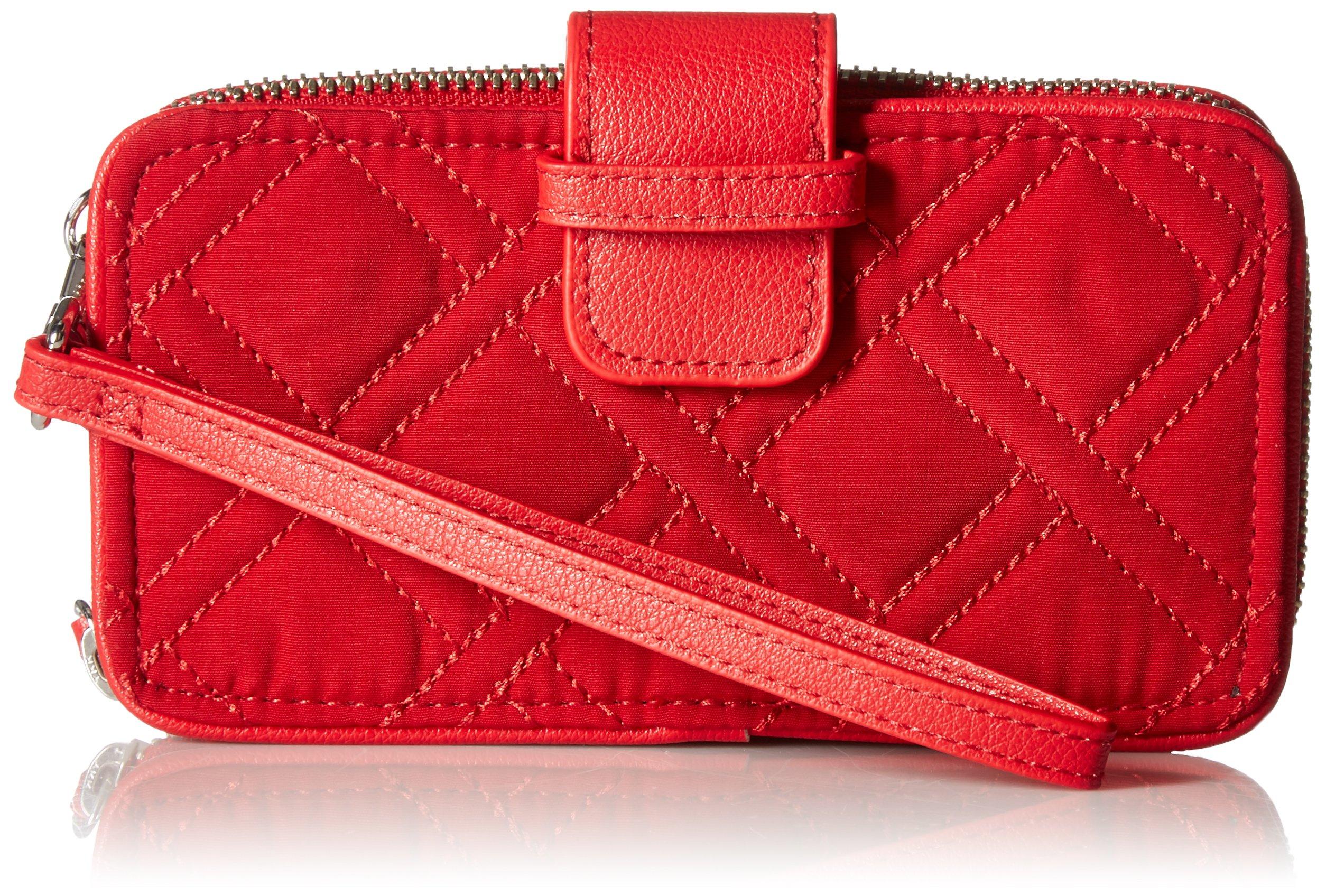 Vera Bradley Rfid Smartphone Wristlet Vera, Cardinal Red
