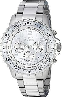 21d01c07b59 Invicta Men s 6620 II Collection Chronograph Stainless Steel Silver Dial  Watch