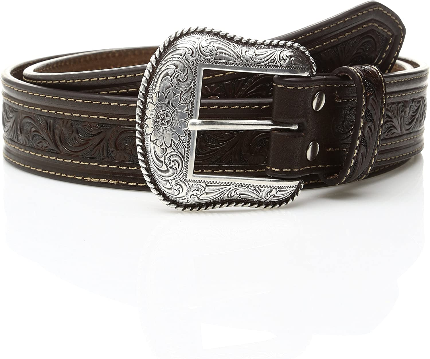 Mens Nocona Top Offset Cross Belt Nocona Belt Co