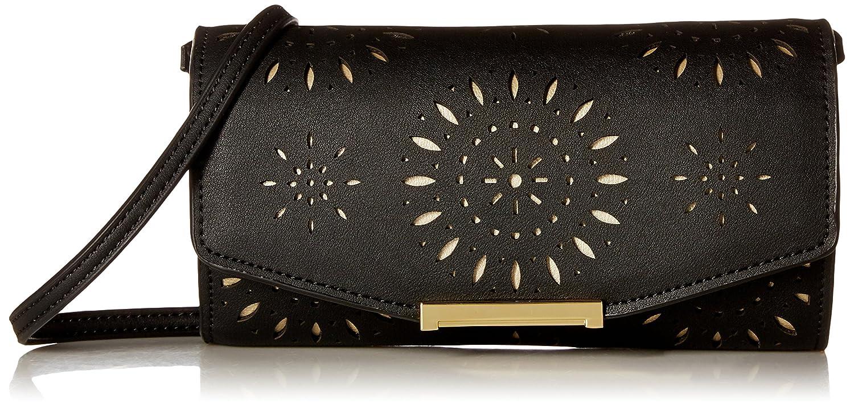 d9ae5af42c7 Ivanka Trump Mara Crossbody Wallet, Black/Laser: Handbags: Amazon.com