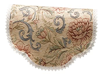 Amazon.com: Classic Home Store tapiz redondo brazo tapas o ...